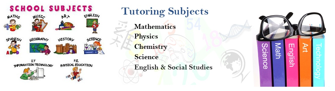 Tutoring Subjects